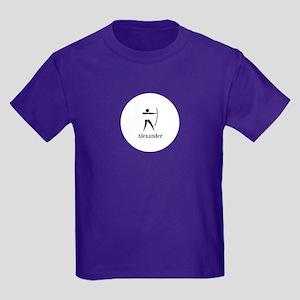 Team Archery Monogram Kids Dark T-Shirt