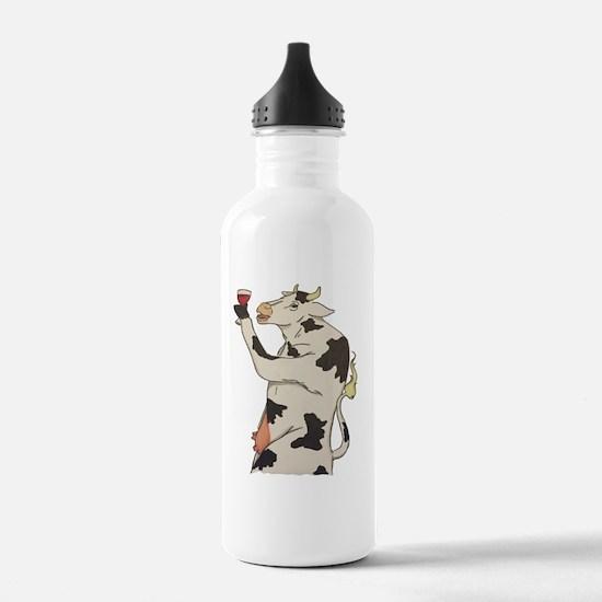 Unique Cow glass Water Bottle