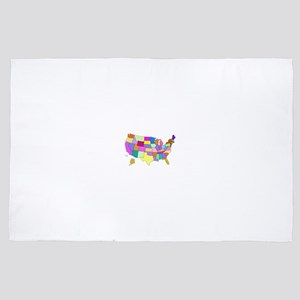 Pastel USA 4' x 6' Rug