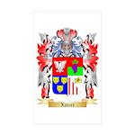 Xavier Sticker (Rectangle 50 pk)