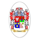 Xavier Sticker (Oval)