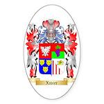 Xavier Sticker (Oval 10 pk)