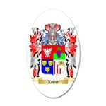 Xavier 35x21 Oval Wall Decal