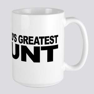 World's Greatest Cunt Large Mug