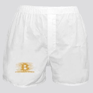 IN CRYPTOGRAPHY WE TRUST Boxer Shorts