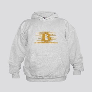 IN CRYPTOGRAPHY WE TRUST Kids Hoodie