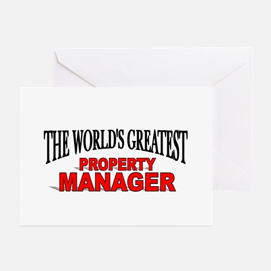 """""""The World's Greatest Property Manager"""" Greeting C"""