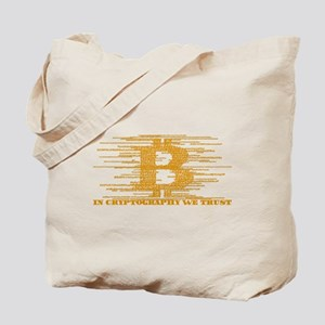 IN CRYPTOGRAPHY WE TRUST Tote Bag