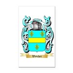 Wytcher Rectangle Car Magnet