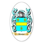 Wytcher Sticker (Oval 50 pk)