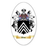 Wyse Sticker (Oval 50 pk)