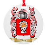 Wynn Round Ornament