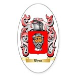 Wynn Sticker (Oval)