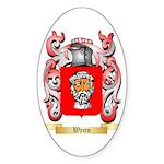 Wynn Sticker (Oval 50 pk)