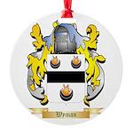 Wyman Round Ornament