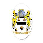 Wyman Oval Car Magnet