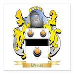Wyman Square Car Magnet 3