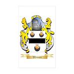 Wyman Sticker (Rectangle 10 pk)