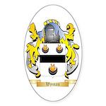 Wyman Sticker (Oval 10 pk)