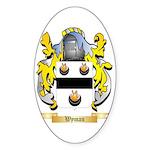Wyman Sticker (Oval 50 pk)