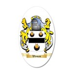 Wyman 35x21 Oval Wall Decal