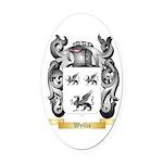Wyllie Oval Car Magnet