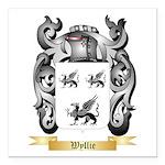 Wyllie Square Car Magnet 3