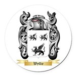 Wyllie Round Car Magnet