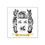 Wyllie Square Sticker 3