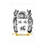 Wyllie Sticker (Rectangle 10 pk)