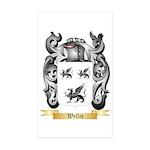 Wyllie Sticker (Rectangle 50 pk)