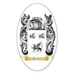 Wyllie Sticker (Oval 10 pk)