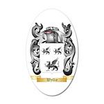 Wyllie 35x21 Oval Wall Decal