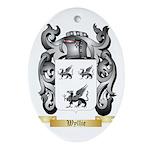 Wyllie Oval Ornament