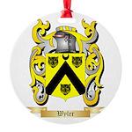Wyler Round Ornament