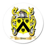 Wyler Round Car Magnet