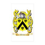 Wyler Sticker (Rectangle 10 pk)
