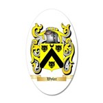 Wyler 20x12 Oval Wall Decal
