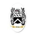 Wylde Oval Car Magnet