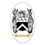 Wylde Sticker (Oval)