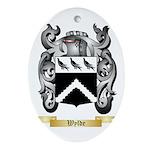 Wylde Oval Ornament