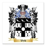 Wyld Square Car Magnet 3