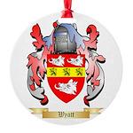 Wyatt Round Ornament