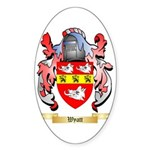 Wyatt Sticker (Oval 10 pk)