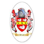 Wyatt Sticker (Oval 50 pk)