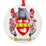 Wyart Round Ornament