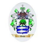 Wulfe Oval Ornament
