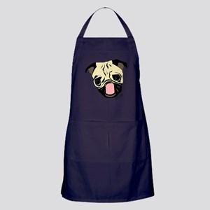 Pug Head Apron (dark)