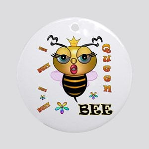 QUEEN BEE, Ornament (Round)