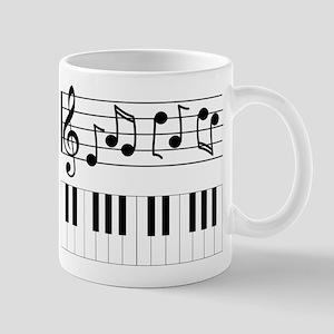 Music Piano Mugs